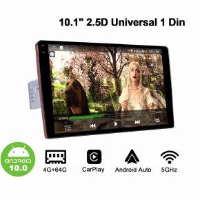 10.1 Inch 2.5D Single Din