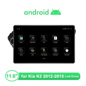 11.6 Inch Android Car GPS Multimedia