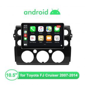 2007-2014 Toyota FJ Cruiser Apple CarPlay Radio with 10.5 Inch Screen 1280X720 Resolution