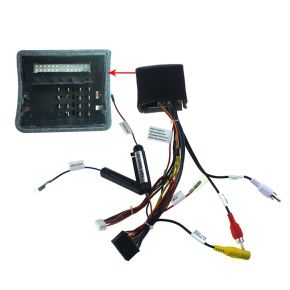 Joying VW Android Navigation System Connect Harness with Big Plug