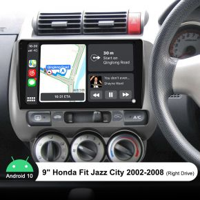 honda jazz touch screen player
