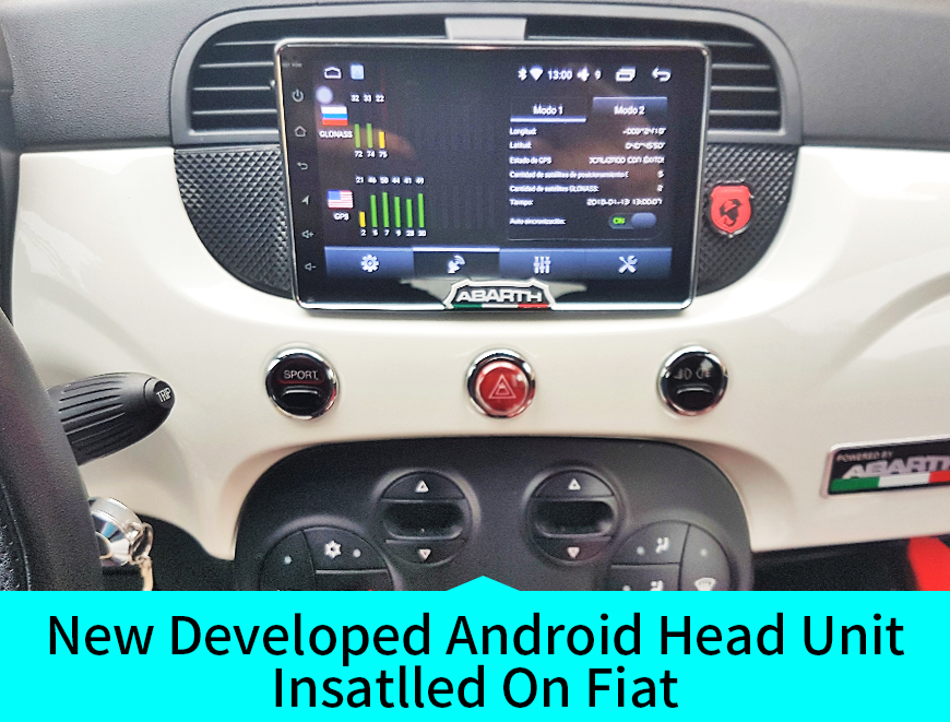 New Joying Android Car Stereo Installed On Fiat