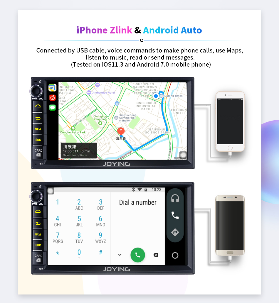 Joying Newest Nissan Android Auto Car Stereo With Navigation 7 Inch Wiring Diagram Hilux Further Radio Navara If You Are Not Sure Whether The Unit Can Fit Your Carplease Send Modelyear And Dashboard Picture To Info Or Support