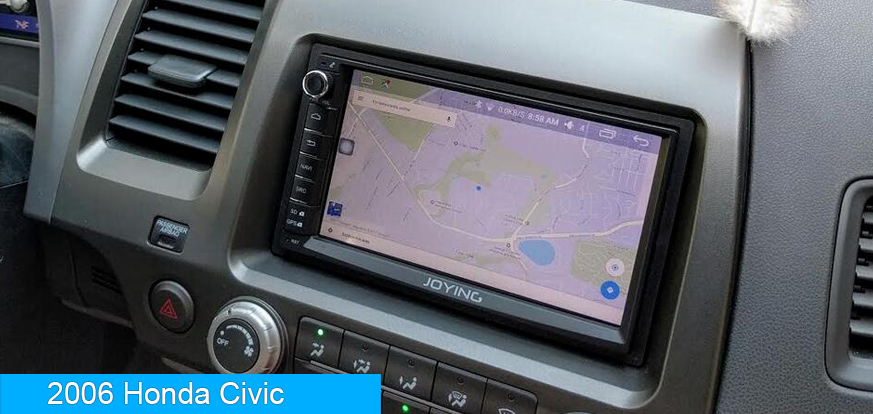 honda accord crv civic android car stereo upgrade