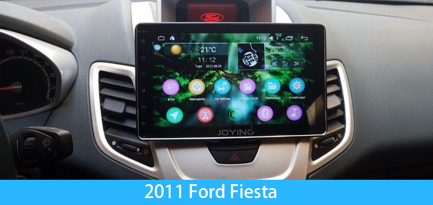 Ford Android Car Stereo Upgrade For Fiesta Focus F150 F250 Joying