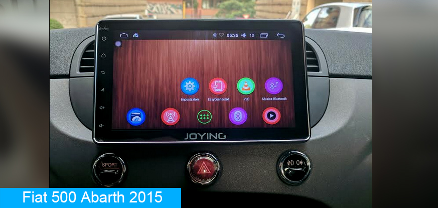 Joying Best Android Car Radio Replacement For Fiat