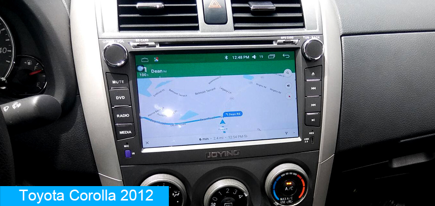 Toyota Corolla Android Car Audio System Replacement Joying