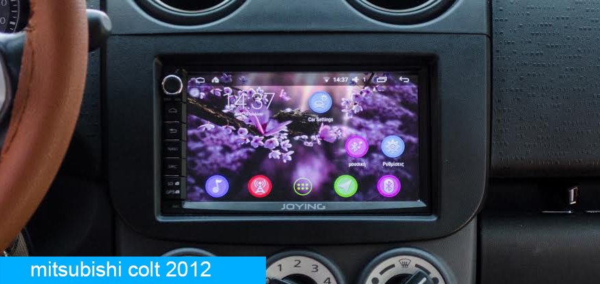 Mitsubishi Android Car Stereo Head Unit Upgrade - Joying