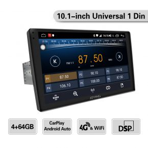 single din 10 inch touch screen