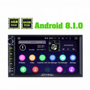 """Joying US Warehouse 7"""" Doule Din Android Head Unit 4GB+64GB with Android Auto CarPlay"""