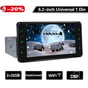 6.2 inch android car stereo