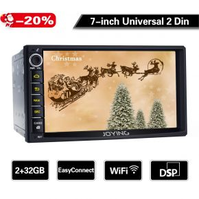 7 inch double din car sound system