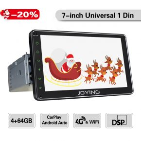 7-inch single din touch screen