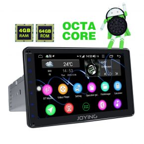 Joying 8 inch Android Car Stereo for Citroen C5 C4 4GB 64GB from EU Warehouse