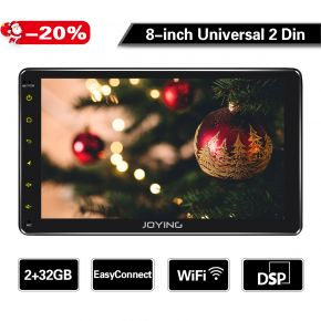 8-inch double din car stereo