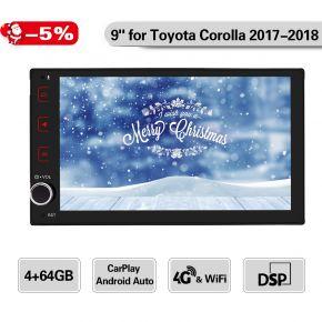 corolla tacoma 2017 2018 car radio