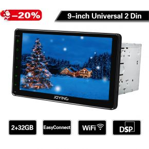 9 inch double din universal car radio
