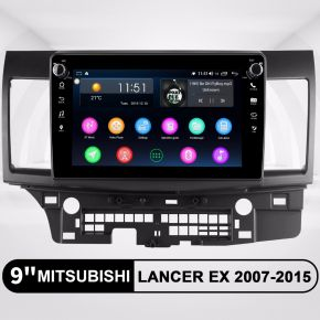 Joying 9 Inch Mitsubishi Lancer EX 2007-2015 Aftermarket Android Head Unit IPS HD Screen