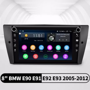 Joying 8 Inch Car Audio System 4+64GB for 2005-2012 BMW E90 E91 E92 E93