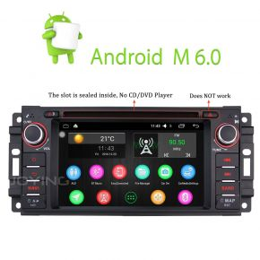 Joying EU Warehouse 6.2 Inch Android Car Auto Radio Head Unit for Jeep Wrangler Dodge