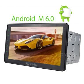 Joying 8'' Double Din Intel Android Car Sound System Stereo Upgrade