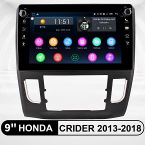 honda crider head unit replacement