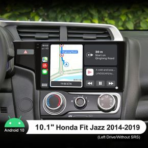 Joying 10.1 Inch 2014-2019 Honda Fit Jazz Upgrade Car Stereo Apple CarPlay
