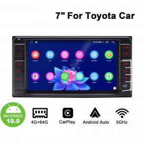 Joying 7 Inch Toyota Universal Android 10.0 Car Sound System Head Unit 4GB+64GB