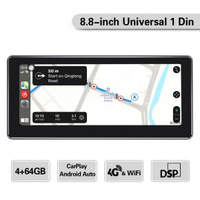 8.8 single din Android car stereo 4+64GB