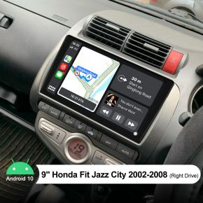 Joying 9 Inch Honda Fit Jazz City Android stereo 2002-2008 Built-in 4G Module
