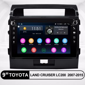 land cruiser navigation system