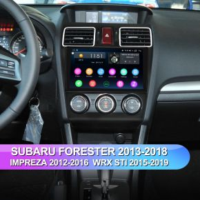 Joying 9 inch Car Radio for Subaru Forester Impreza WRX STi 2013-2018 Google Map