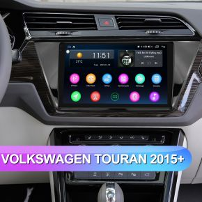 Joying 10.1 inch Big Screen Upgrade Radio for Volkswagen Touran with Canbus System