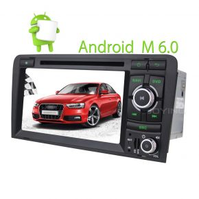Joying New Touch Screen Android Car Stereo Navigation System for Audi A3 2GB/32GB