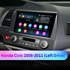 honda civic android head unit