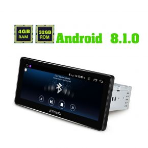 JOYING EU Warehouse Android 8.1.0 Wide Screen 8.8 Inch Car GPS Navigation system