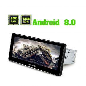 Joying EU Warehouse 8.8 Inch Single Din Android 8.0 Car Sound System Head Unit