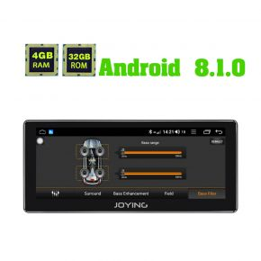JOYING Germany Warehouse 10.25 Inch Android 8.1.0 Car Media Player with DSP
