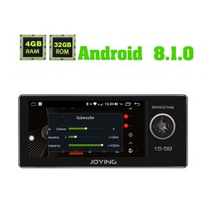 single din android auto