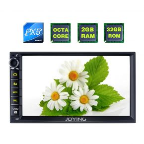 Joying Hyundai Tucson Elantra Accent Universal Double Din Android Octa Core Ram 2GB Car Navigation System