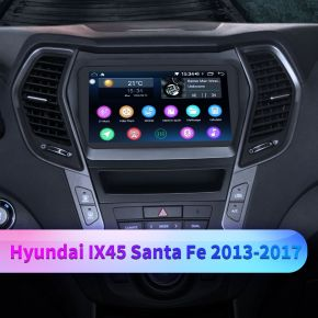 Hyundai ix45 head unit