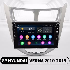 Hyundai Verna android head unit