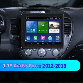 kia forte touch screen radio