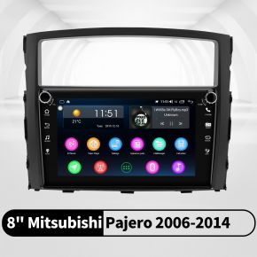 mitsubishi pajero head unit