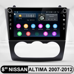 touch screen radio for nissan altima
