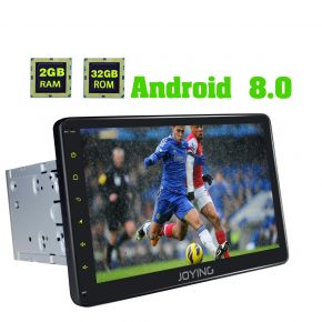 Joying 10.1 Inch Nissan Big Screen Android 8.0 Octa Core Car Music System Head Unit Replacement