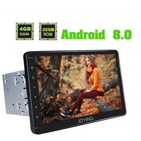 Joying New Developed Android 8.0 Oreo 10.1 Inch Big Screen Car Head Unit Replacement for Nissan