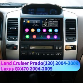 toyota land cruiser replacement radio