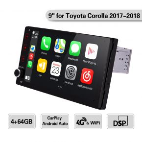 corolla tacoma 2017 2018 car radio
