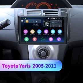 toyota yaris radio replacement